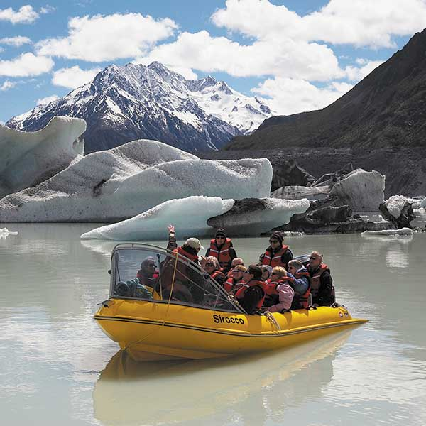 Mt Cook Glacier & Lake Heli Combo: