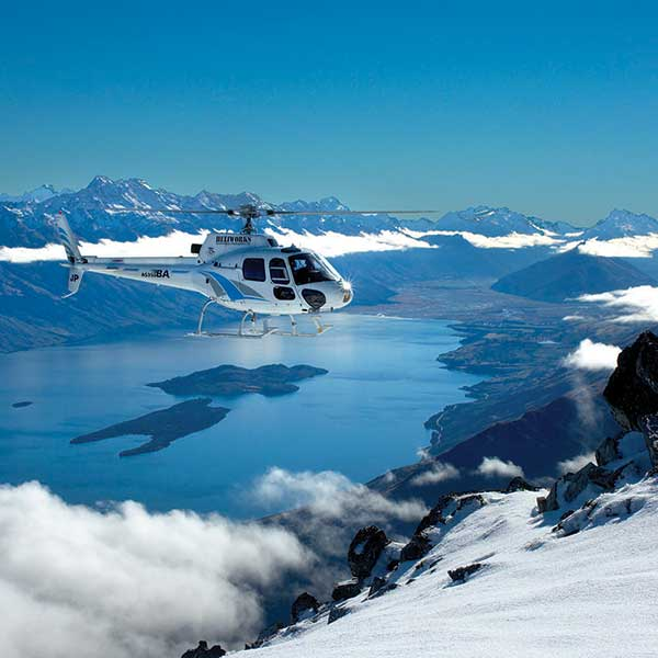 Queenstown Snow Landing